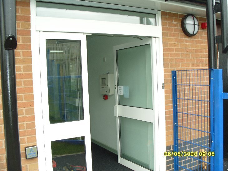 Access Solutions - Swing Oldham School Door | ASN Door